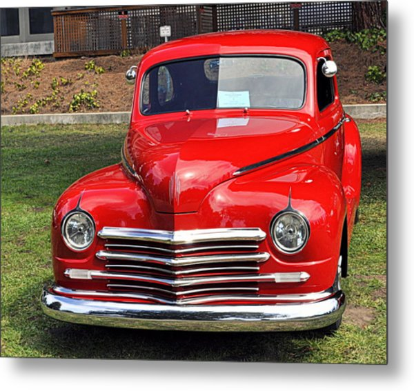 1948 Plymouth Coupe Metal Print