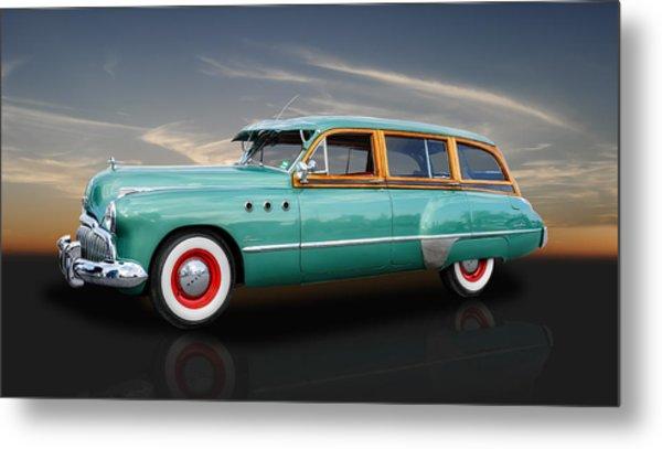 1949 Buick Super Woody Metal Print