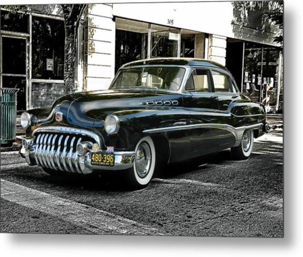 1950 Buick Metal Print