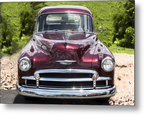 1950 Chevrolet Beauty Metal Print