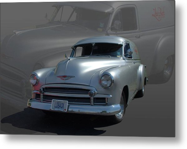 1950 Chevrolet Sedan Delivery Metal Print by Tim McCullough