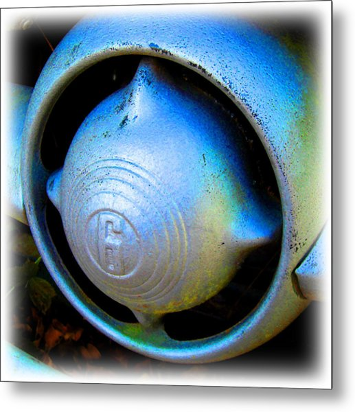 1950 Ford Nose Bullet Metal Print