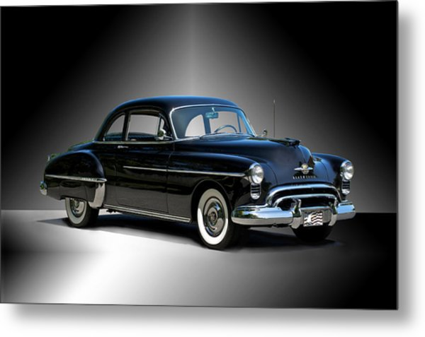 1950 Oldsmobile 88 Deluxe Club Coupe I Metal Print by Dave Koontz