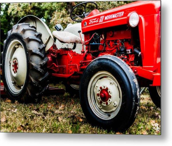 1950s-vintage Ford 601 Workmaster Tractor Metal Print