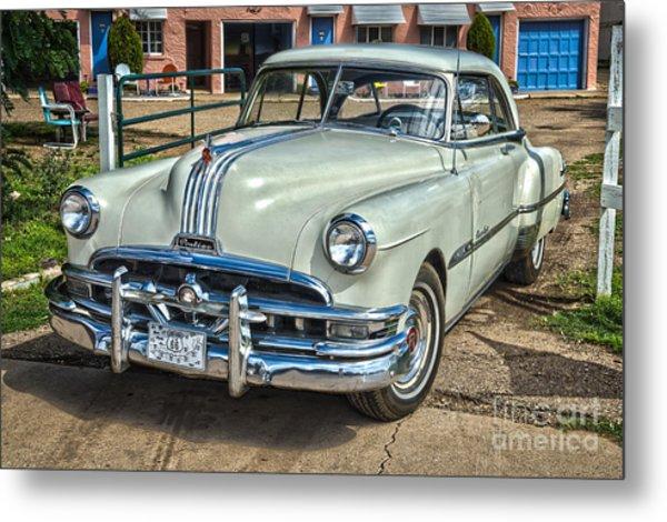 1951 Pontiac Chieftain Side View Metal Print