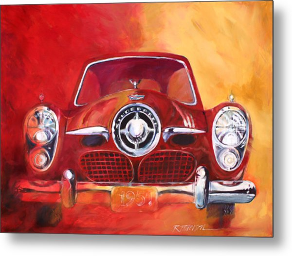 1951 Studebaker Metal Print by Ron Patterson