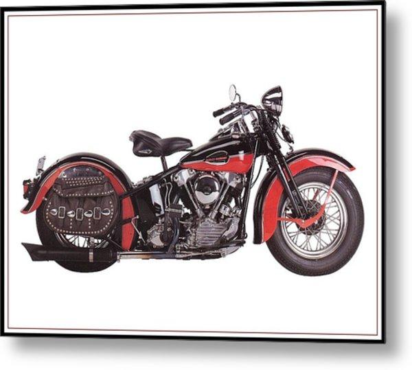 1952 Harley Davidson Metal Print