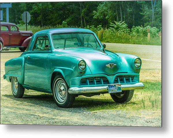 1952 Studebaker Metal Print by Barry Jones