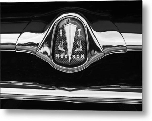 1953 Hudson Twin Hornet Grille Emblem Metal Print