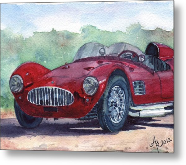 1954 Maserati A6 Gsc Tipo Mm Metal Print
