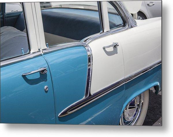 1955 Chevrolet 4 Door Metal Print