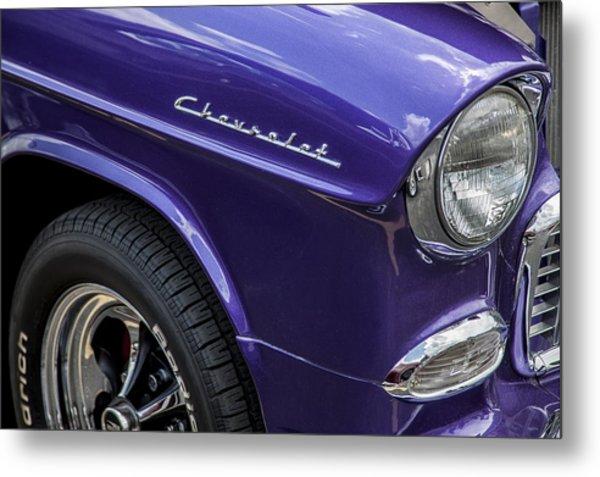 1955 Chevrolet Purple Monster Metal Print