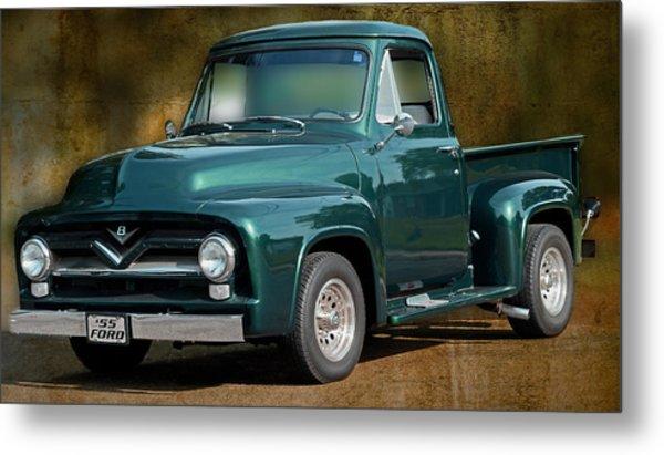 1955 Ford Truck Metal Print