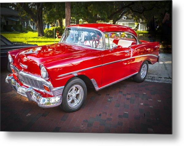 1956 Chevrolet 210 Bel Air Metal Print