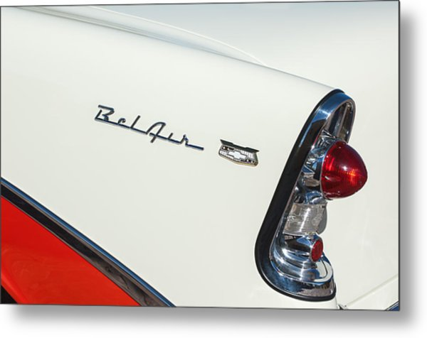 1956 Chevrolet Belair Coupe Taillight Metal Print
