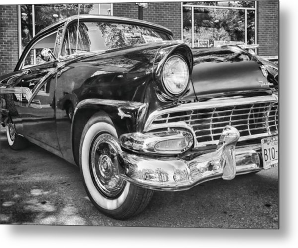 1956 Ford Fairlane Metal Print