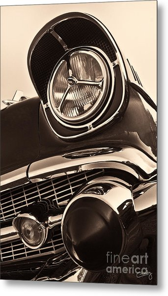 1957 Chevy Details Metal Print