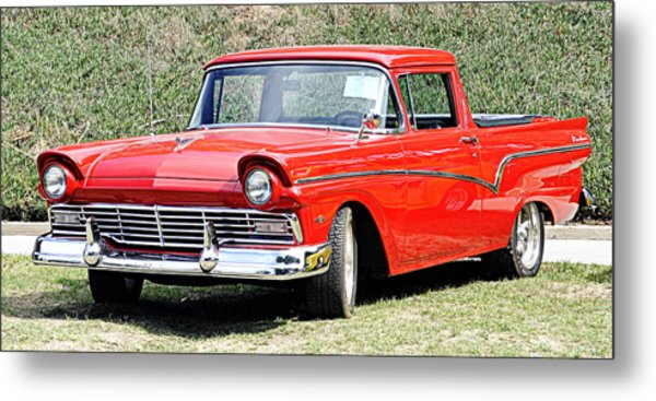1957 Ford Ranchero Metal Print