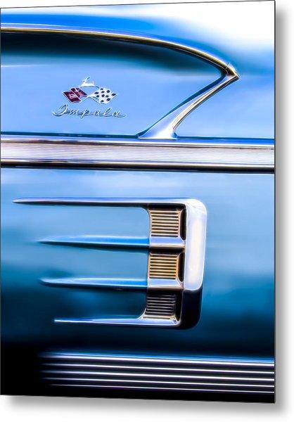 1958 Chevrolet Impala Metal Print
