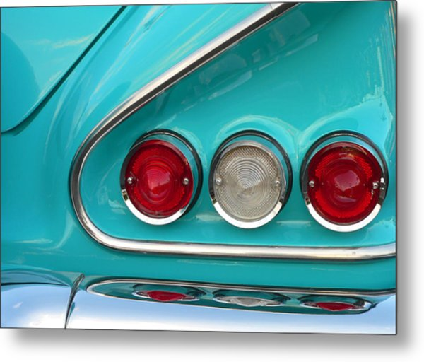 1958 Chevy Impala Metal Print