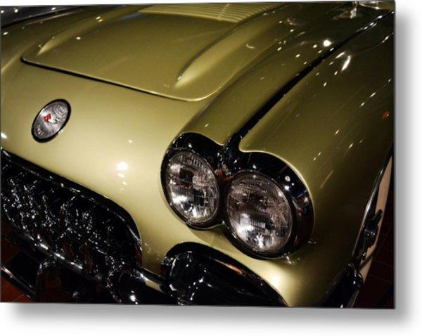 1958 Fancy Free Corvette J58s Metal Print