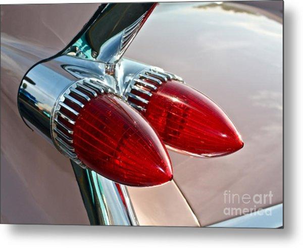 1959 Eldorado Taillights Metal Print
