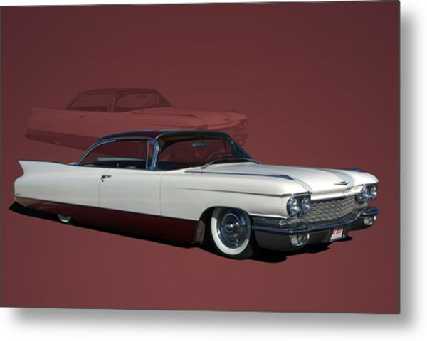 Metal Print featuring the photograph 1960 Cadillac Coupe Deville Low Rider by Tim McCullough