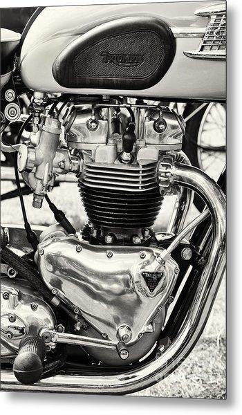 1960 Truimph T120 Bonneville 650cc Metal Print