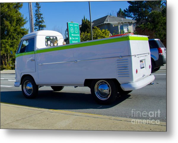 1960's Vw Truck  Metal Print by Aaron Fromenthal