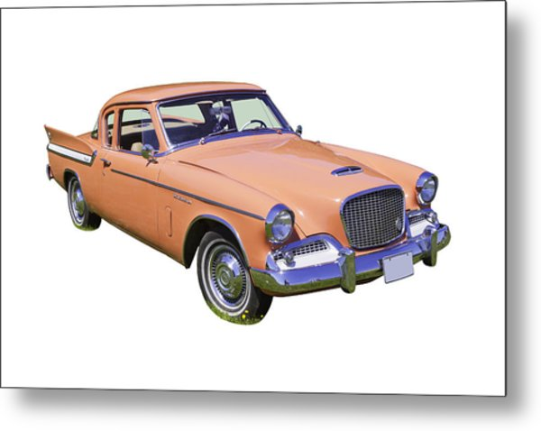 1961 Studebaker Hawk Coupe Metal Print