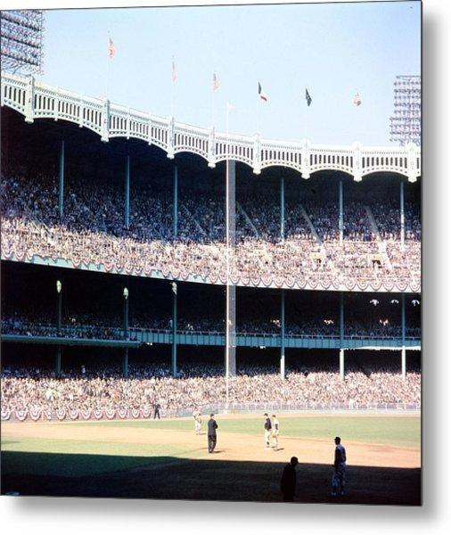 1961 World Series Metal Print