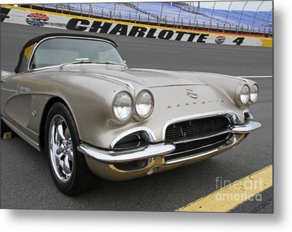 1962 Chevy Corvette Metal Print