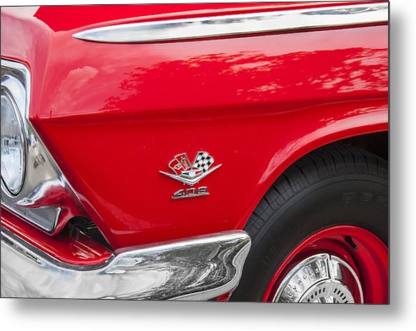 1962 Chevy Impala 409 Metal Print