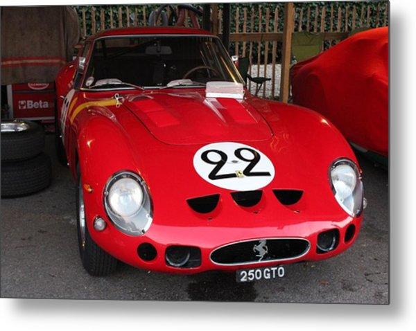 1962 Ferrari Gto Metal Print