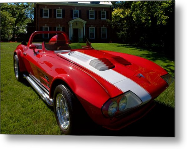 Metal Print featuring the photograph 1963 Grand Sport Covette by Tim McCullough