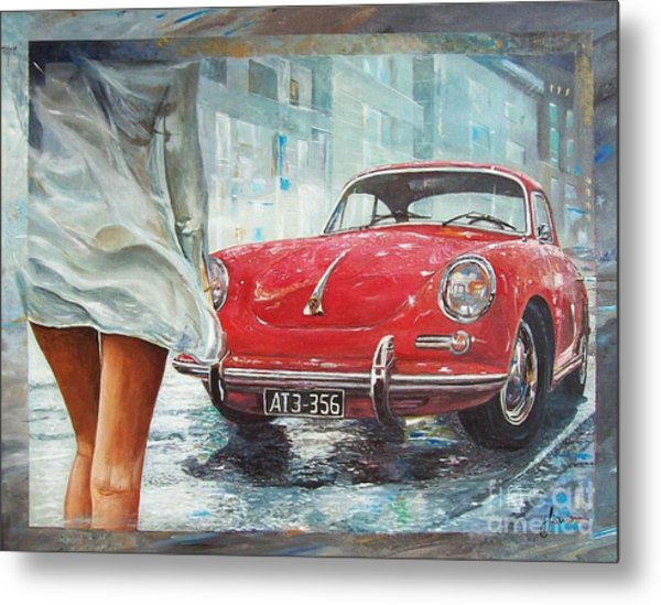 1963 Porsche 356 C Metal Print