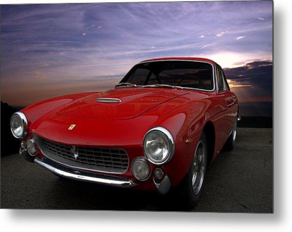 Metal Print featuring the photograph 1964 Ferrari 250 Gt Lusso Berlinetta by Tim McCullough