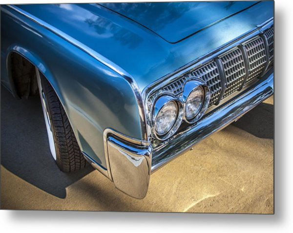 1964 Lincoln Continental Convertible  Metal Print