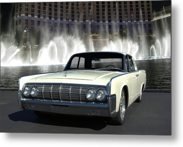 1964 Lincoln Continental Metal Print