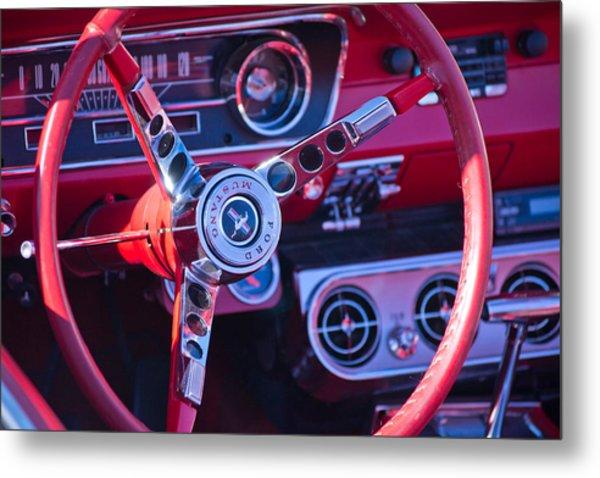 1964 Mustang Interior Metal Print