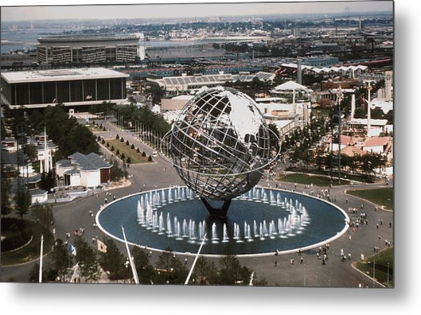 1964 Worlds Fair New York City Metal Print by Kevin Snider