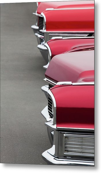1965 Cadillac Deville Convertible Coupe Metal Print by Car Culture
