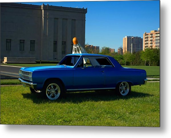 Metal Print featuring the photograph 1965 Chevelle Malibu by Tim McCullough