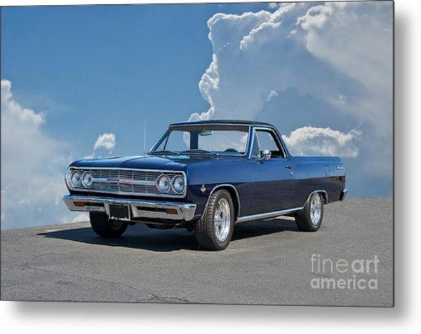 1965 Chevrolet El Camino Metal Print by Dave Koontz