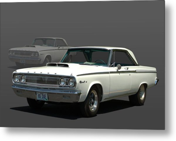 Metal Print featuring the photograph 1965 Dodge Coronet 440 by Tim McCullough