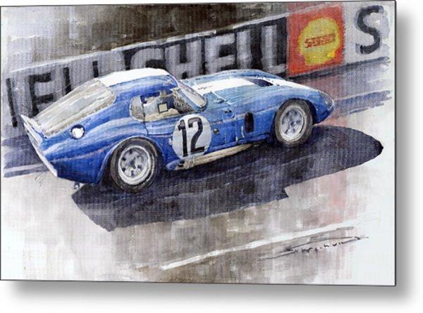 1965 Le Mans  Daytona Cobra Coupe  Metal Print