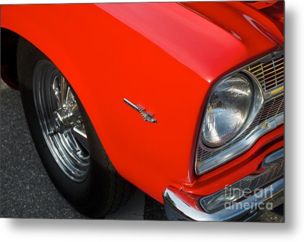 1965 Plymouth Belvedere Metal Print