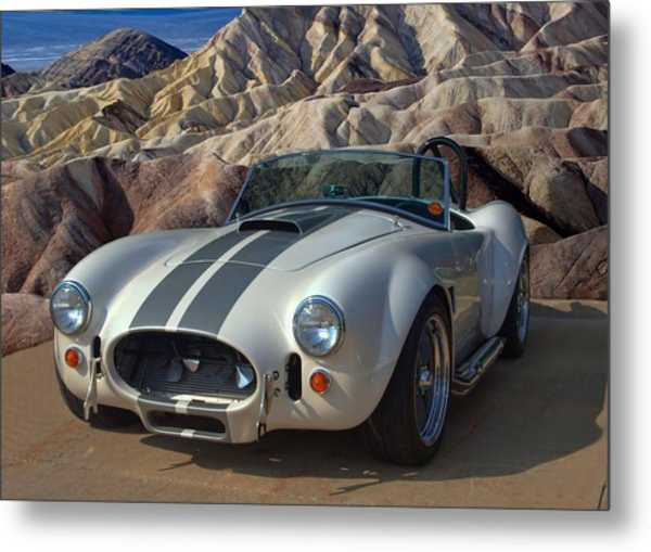 1965 Shelby Cobra Replica 427 Metal Print
