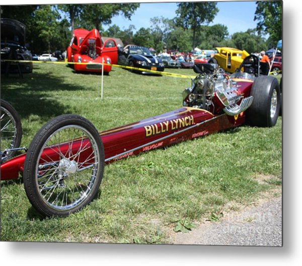 1967 Billy Lynch's Top Fuel Dragster Metal Print