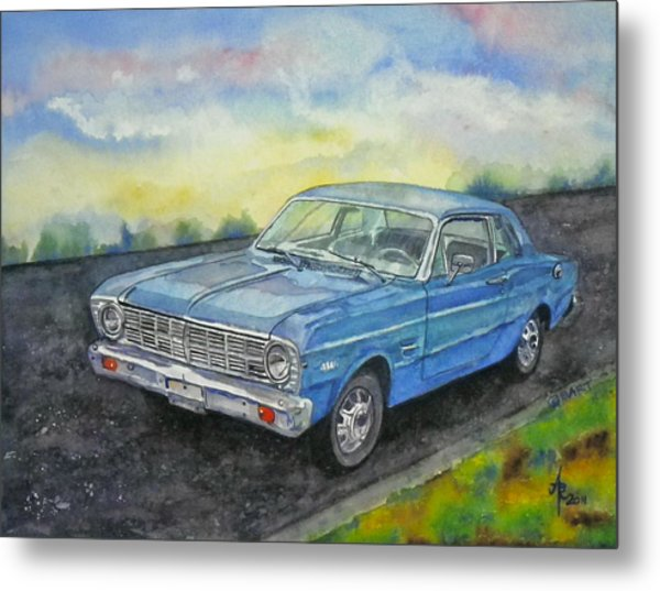 1967 Ford Falcon Futura Metal Print